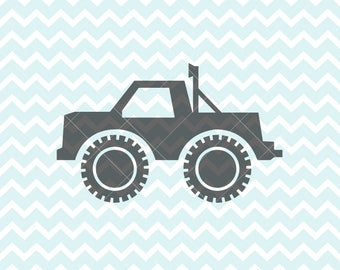 Monster Truck SVG PNG, Monster Truck Clipart, SVG Files, svg Originals, Clipart, Commercial Use, Truck svg, Truck Clipart