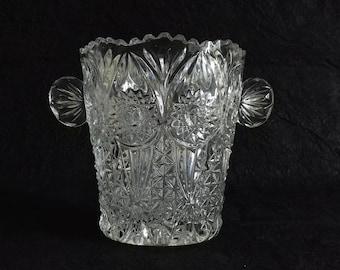 Bleikristall_Echt 1970 Germany Crystal ice bucket