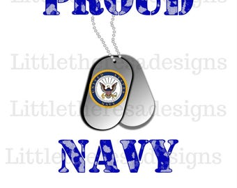 Proud To Be A Navy,Army or Marine Veteran Transfers,Digital Transfer,Digital Iron On,DIY