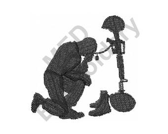 Soldier - Machine Embroidery Design
