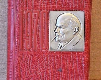 Vintage notebook. THE USSR. Anniversary. Lenin. 1970