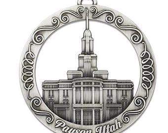 Payson Utah LDS Temple Ornament