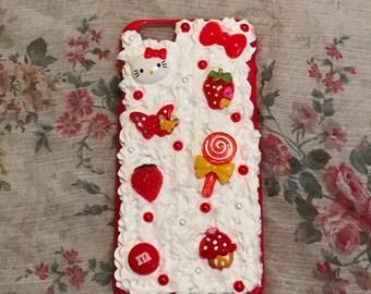Kawaii Red Decoden iPhone 6/6S Case