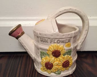 Fitz and Floyd Creamer Mixed Flowers 1993