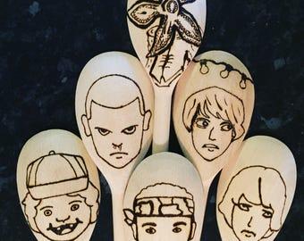 Stranger Things inspired 6 Piece utensil set
