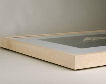 """20"""" x 24"""" Handmade Maple Picture Frame"""