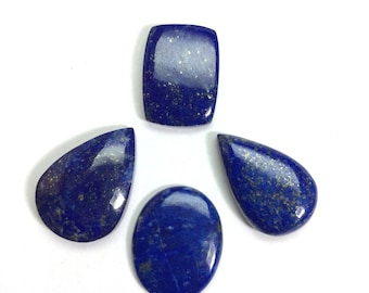 Lapis lazuli gemstone 18 to 23mm (4 pcs)