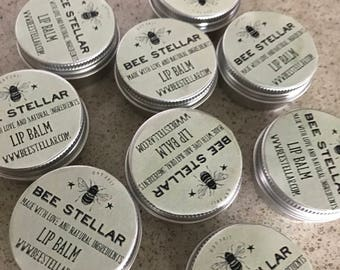 All Natural Lip Balm - Peppermint and Honey