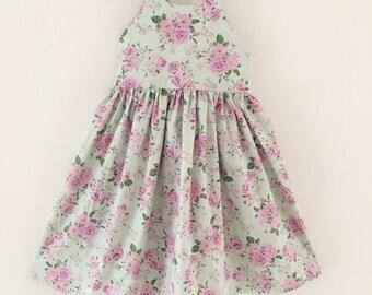 Girls Summer Dress, Floral Dress, Girls Floral Dress, Dress, Toddler Dress, Party Dress,