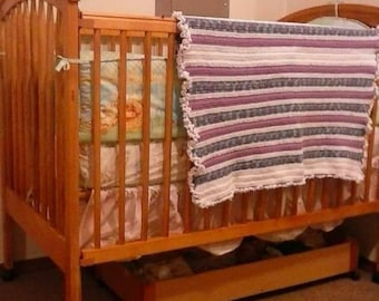 Homecrafted baby blankets