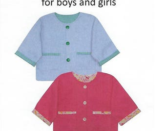 Children's Corner Sewing Pattern #216 / ROBIN'S Little Jackets / Sizes 4 - 8