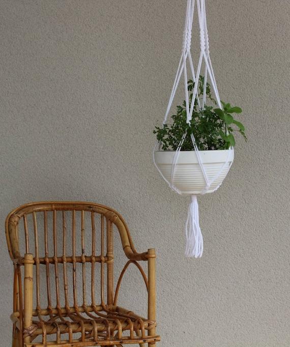 kit diy faire soi m me suspension pour plante en macram. Black Bedroom Furniture Sets. Home Design Ideas