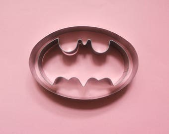Batman cookie cutter Fondant Biscuit Pastry Baking Stainless Steel Baking Mold