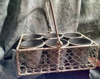 Seed pots with carrier