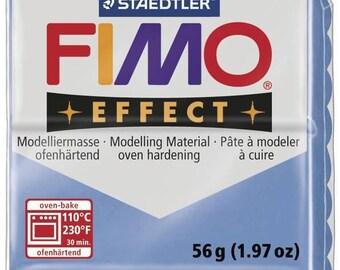 Pâte Fimo 57 g Effect Pierre précieuse Bleu agate 8020.386 - Fimo