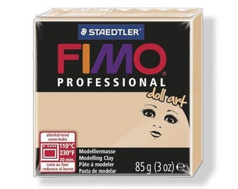 Fimo clay Professional 85 g sand 8027.45 - polymer clay Art Doll