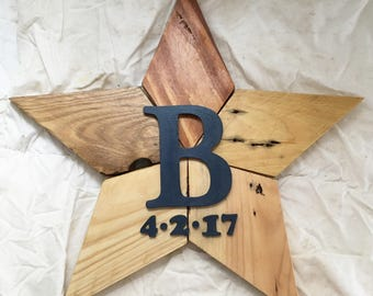 Personalised birth star