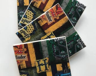Designerbadge tile coasters