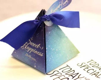 Wedding Gift Foldable Candy Box