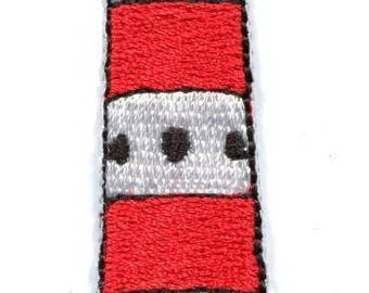 Lighthouse tower beacon retro embroidered applique iron-on patch new S-1355