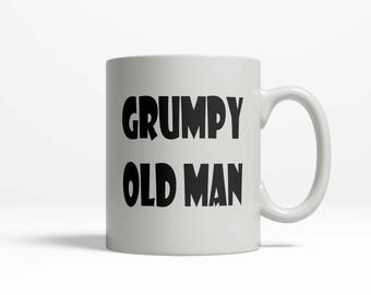The Man Mug Grumpy Old Man
