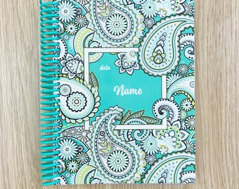 2018 Personalised Diaries & Planners   Create Your Own Diary 'Paisley'