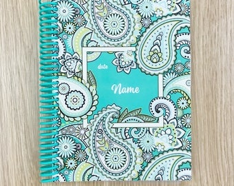 2018 Personalised Diaries & Planners | Create Your Own Diary 'Paisley'