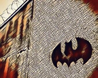 Batman Symbol Digital Print