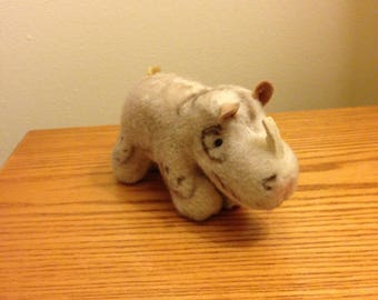 Steiff Rhino Plush Toy