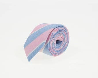 de MORÉ - candy striped tie
