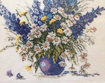 """Wildflowers  14""""х 14"""""""