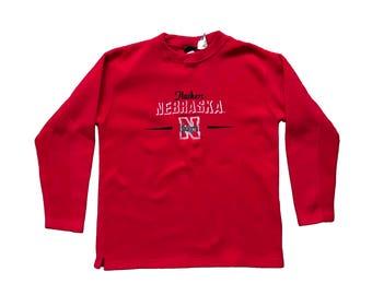 2000's Nebraska Huskers Fleece Sweater