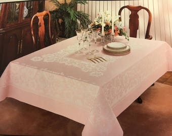 Pink Tablecloth by DAMASK