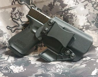 FAST SHIPPING Glock 19, 23 IWB / Appendix w/ Claw - Kydex Holster