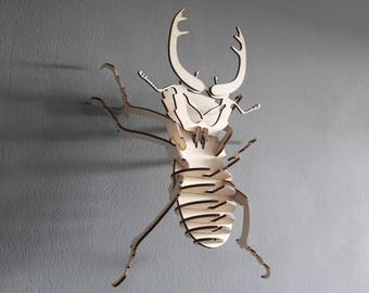 laser cutted bug for your office/store/home