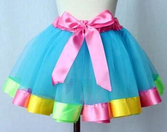 Tutu party dance fluffy skirt