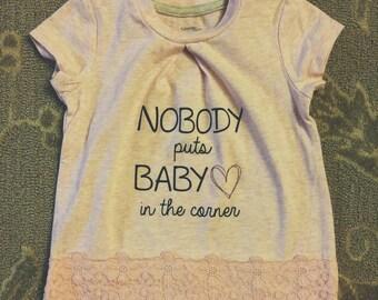 Nobody puts Baby in the Corner Iron On