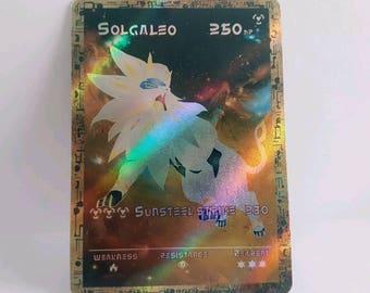 Solgaleo ancient full type custom / self-made Pokemon card / Solgaleo full type map