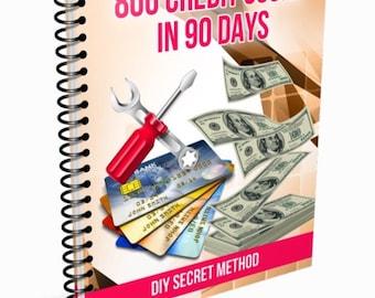 800 Credit Score in 90 Days-ebook