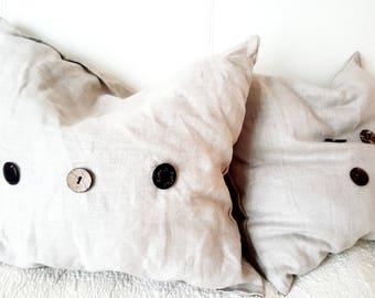 Throw Pillow, Linen Pillow, Decorative Pillow, Farmhouse decor, Rustic Pillow, Farmhouse Pillow, Home Decor, Pillow Covers, Sofa Pillow