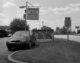 Hebron Auto Repair, Hebron, IL, August 2017