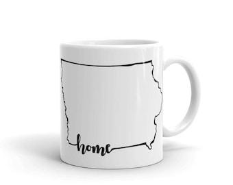 Iowa Home State - Coffee Mug