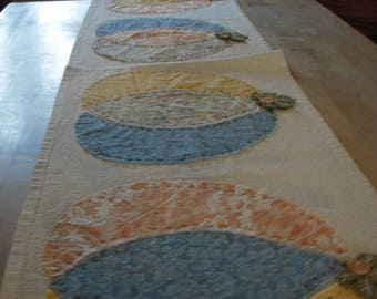 Rustic Pumpkin Tablerunner