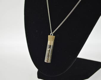 Watchmakers Vial Necklace