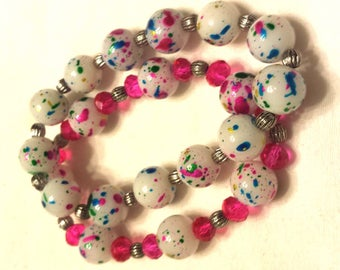 Stretch Bracelet  (small-med)