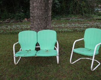 Vintage Metal Outdoor Furniture