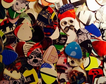 recycled / upcycled Plastic Guitar Picks (qty 30 for 3.99)