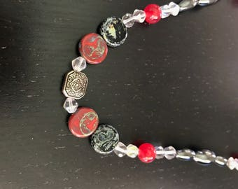 Jasper Necklace, Bracelet & Anklet