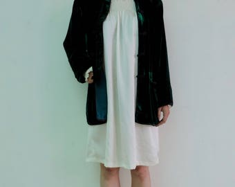 Jacket velvet trendy Pajamas night jacket dreamy look soft