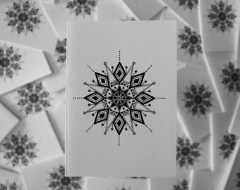 Hand Designed Mandala Card 3